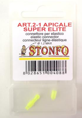 Connecteur Stonfo Super Elite jaune