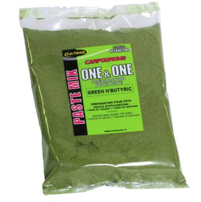 Pâte one&one Fun Fishing Green Butyric 500gr