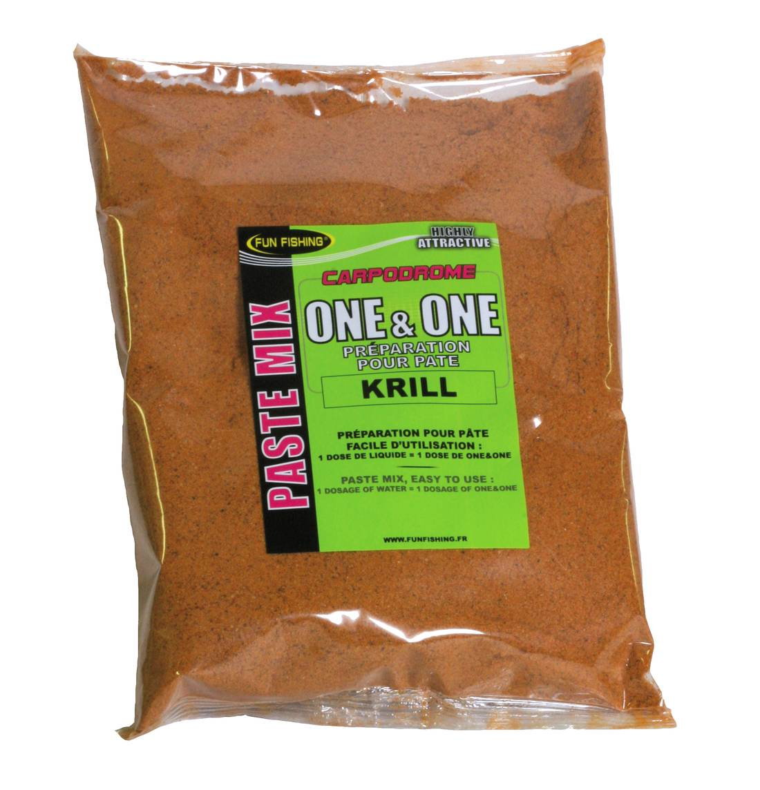 Pâte One&One Fun Fishing Krill 500gr