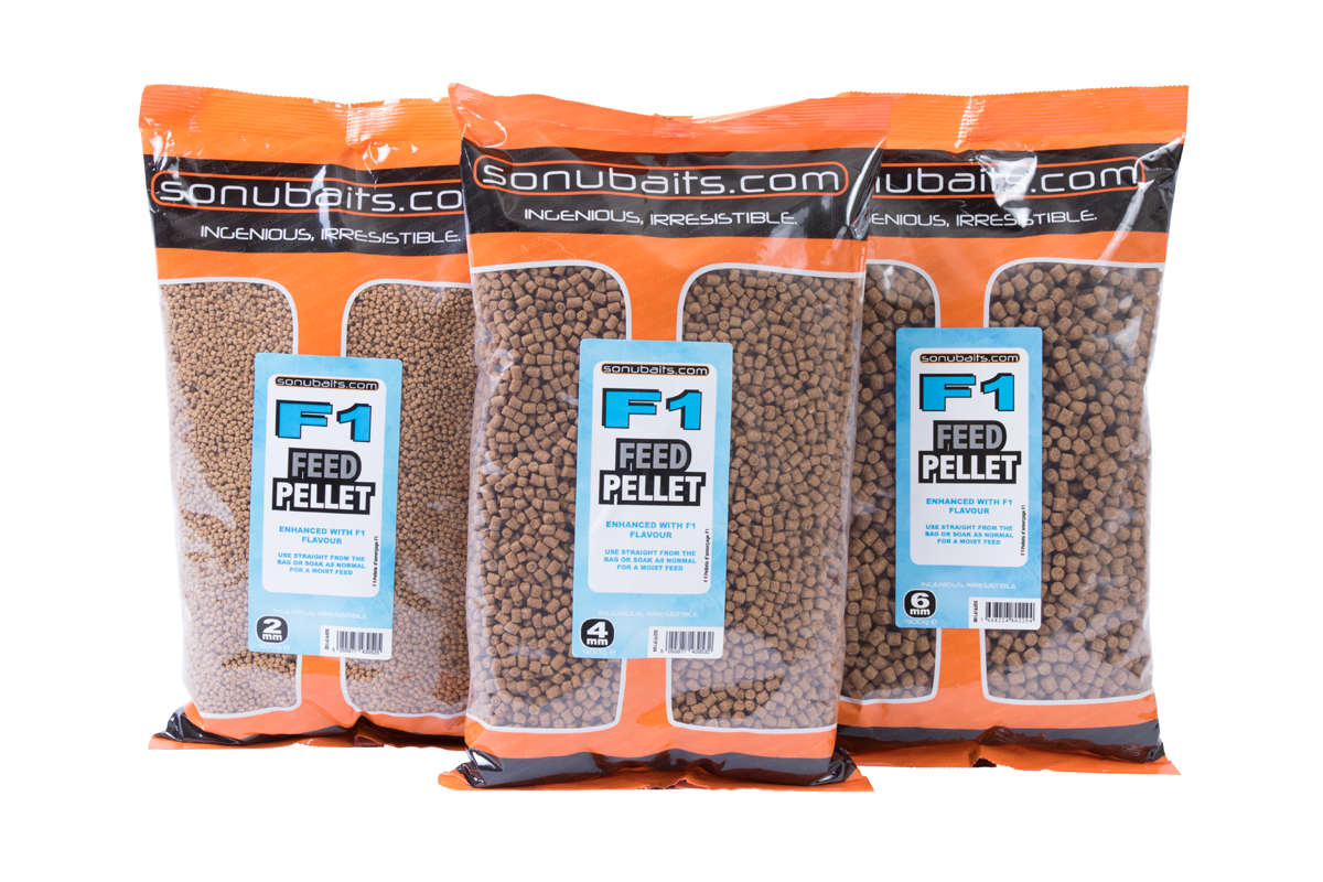 Pellets Sonubaits 6mm F1 Feed  900g