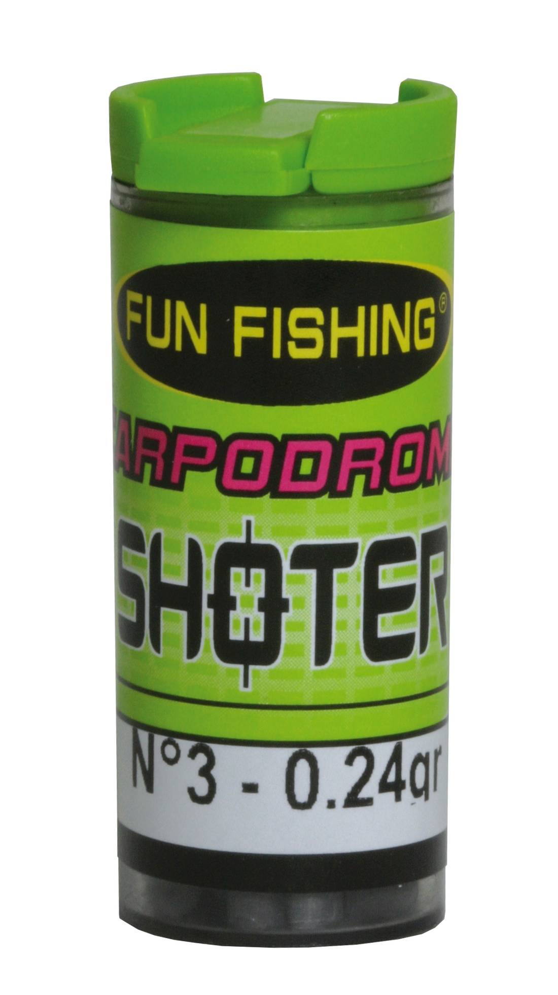 Recharge Plomb Shoter Fun Fishing N°03-0.24G