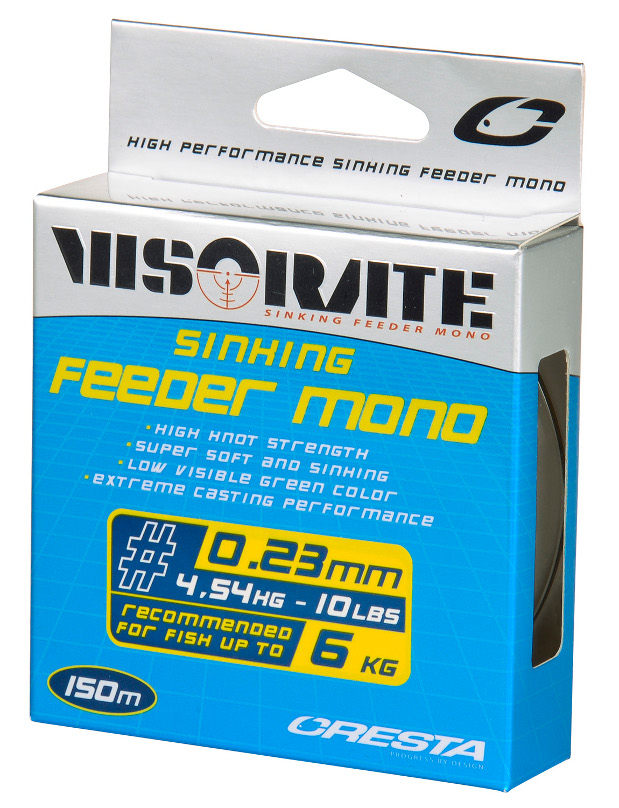 Nylon Feeder Cresta Visorate Mono 20mm