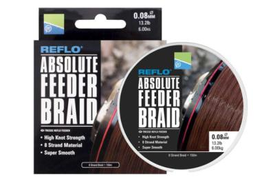 Tresse Preston Absolute Braid-0,10mm