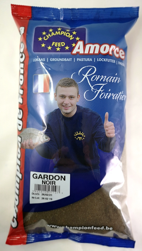 Amorce Champion Feed Champion de France Gardon Noir 1kg