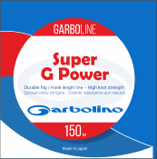 Nylon Garbolino Super G Power 150m 0.12mm