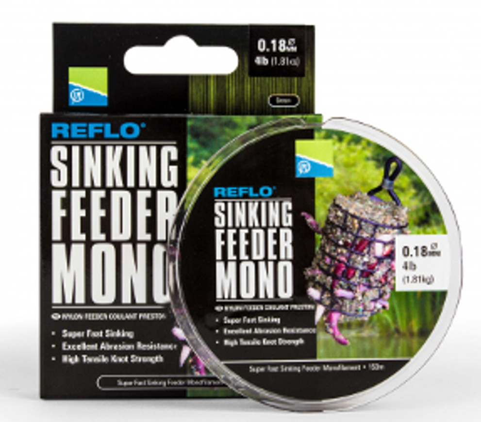 Nylon Feeder Preston Sinking Mono 0.20mm