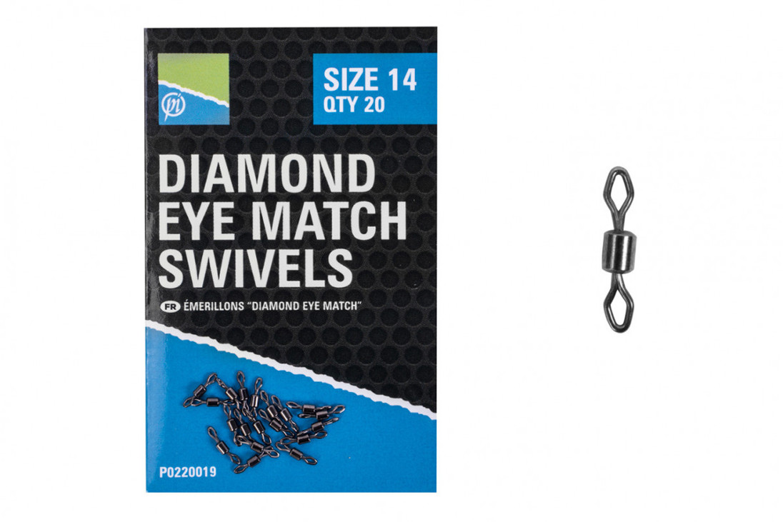 Emerillon Preston Diamond Eye Match Swivels