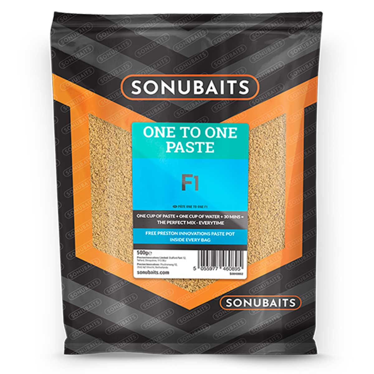 Pâte Sonubaits F1 One to One - 500gr