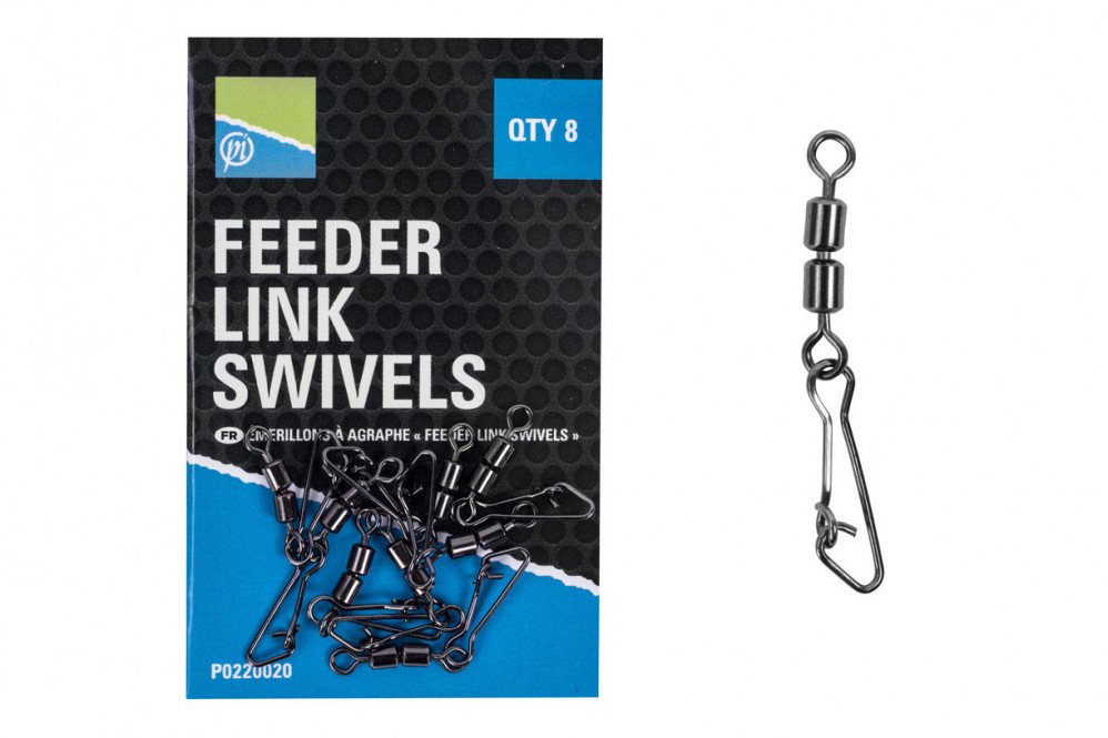 Agraphe Preston Double Feeder Link Swivels