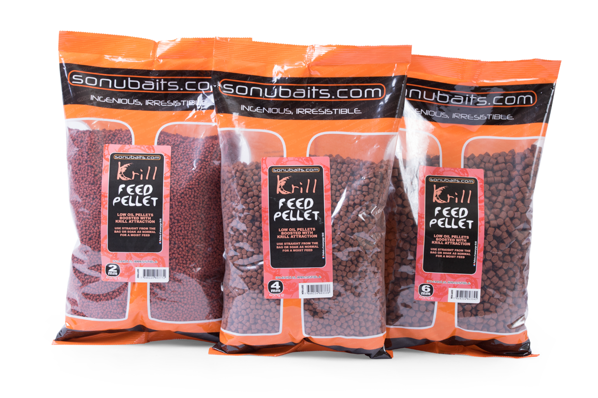 Pellets sonubaits krill feed 2mm 900g