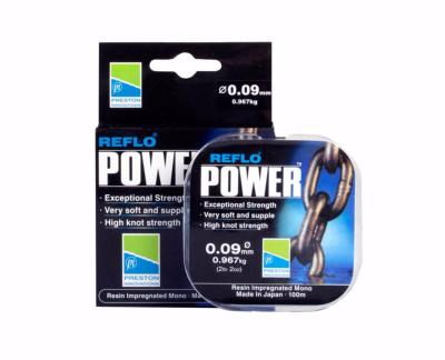 Nylon Preston Reflo Power 100m  0.15mm (2.683kg)